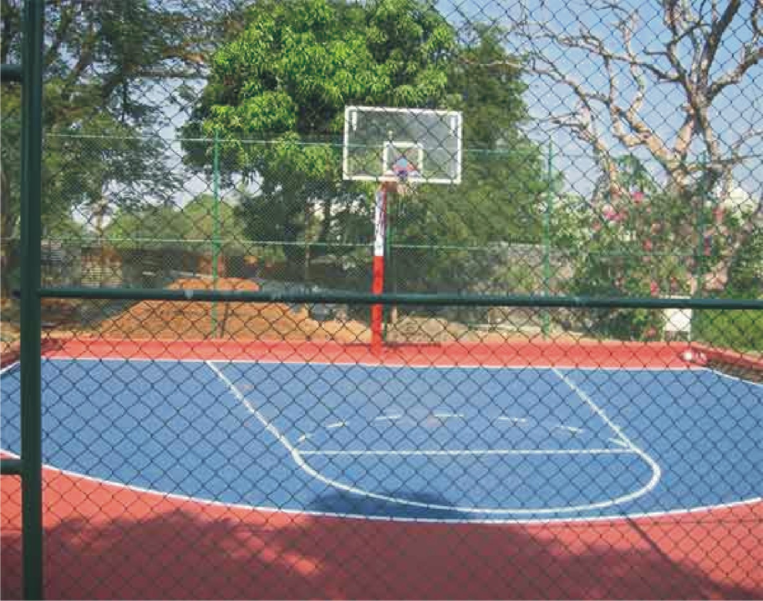 Sundek Sports Systems Indoor And Outdoor Basketball