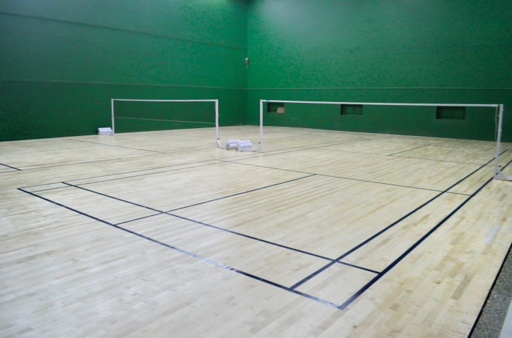 Sundek Sports Systems Badminton Court Construction