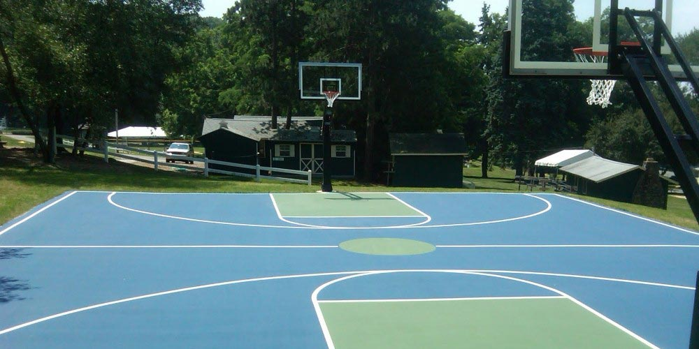 Sundek Sports System Basketball Court